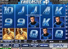 Fantastic 4 slots screenshot