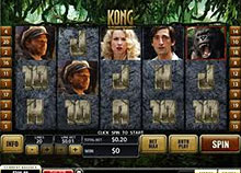 King Kong Video Slot screenshot