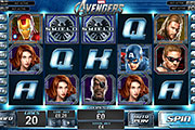 The Avengers Slot screenshot