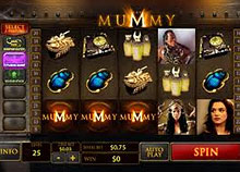The Mummy Video Slot screenshot