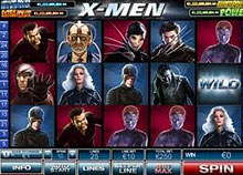X-Men Slots screenshot